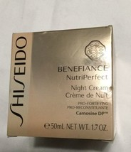 Shiseido Benefiance NutriPerfect Night Cream 1.7 oz NIB - $71.04