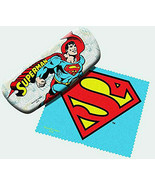 Spoontiques 13668 Superman Eye Glass Case with Matching Lens Cloth - $16.78