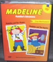 Madeline's Adventures DVD NEW! 2 Fun-Filled Features - $10.96