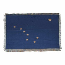 The Northwest Company Alaska State Flag Woven Tapestry Throw Blanket, 48... - £21.47 GBP