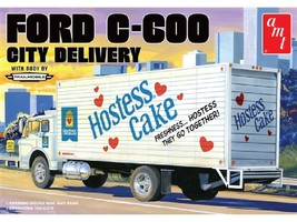 AMT 1:25 Scale Ford C-600 City Delivery Truck (Hostess) - 1139 - $49.60