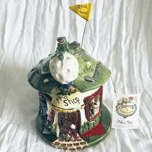 BLUE SKY HEATHER GOLDMINC Pro Golf Shop Tea Light Candle Lantern New Tag... - $23.27