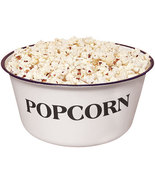 Farmhouse Kitchen Popcorn 4qt Bowl Homemade Gifts  - $29.95
