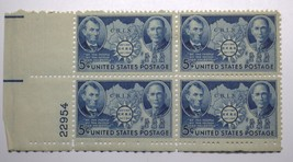 SCOTT # 916 GREECE FLAG  U.S. STAMPS MNH  MARGIN BLOCK OF 4 #59588-3 DBW - $9.90