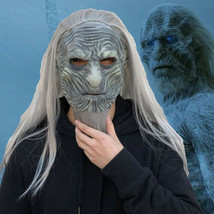 Game of Thrones Season 8 The White Walkers Night King Costume Mask Cosplay Prop - £17.47 GBP