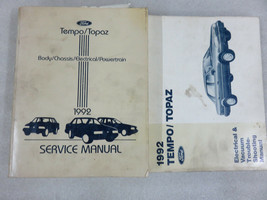 1992 Ford Tempo Topaz Service Repair Manual OEM Factory Dealership Workshop Set - $2.66