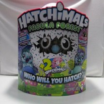 NEW Hatchimals Fabula Forest Puffatoo + 2 Bonus Hatchimal Colleggtables ... - $45.99