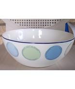 "Noritake 47 oz. Ambience Java Blue Small Round 7 1/2"" Serving Bowl - $16.99"