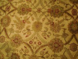 New Smooth Wool Authentic Handmade 10' x 14' Beige Jaipur Wool Rug image 6