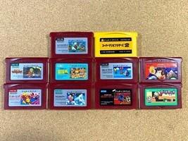 Nintendo Game Boy Advance Famicom Mini Set Super Mario Bros. The Legend ... - $100.95