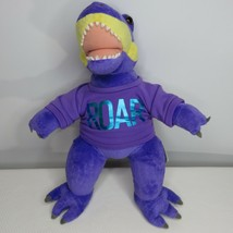 BAB Build A Bear Purple Dino Dinosaur Plush Roar Stuffed Toy - $39.55