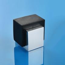 Rubber Door Stops Aluminium Alloy Door Stopper Wood Holder Toilet Glass Hidden - $17.95