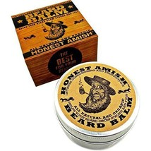 Honest Amish Natural & Organic Beard Balm Leave In Conditioner Vegan Friendly - $18.60