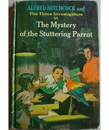 Three Investigators #2 MYSTERY OF THE STUTTERING PARROT 3rd Print hc Arthur - $36.00