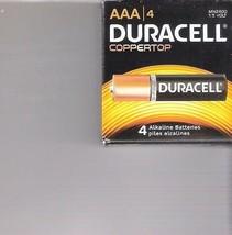 2 X 4 Duracell = Total 8 AAA Coppertop Alkaline Batteries 2024 - $7.99