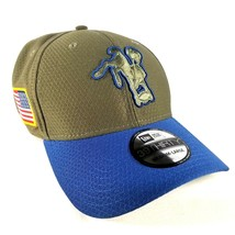 Indianapolis Colts New Era 39THIRTY Hat Size M L Salute To Service 2017 - $18.69