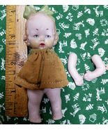 "German Bisque Doll 4""Needs Repair - $35.00"