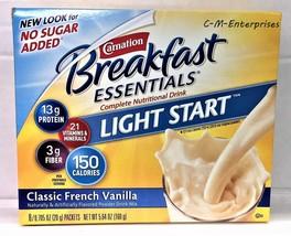 Carnation Breakfast Essentials Light Start Rich... - $7.91