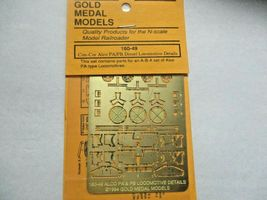 Gold Medal Models # 160-49 Con-Cor Alco PA/PDB Diesel Loco Detail Parts N-Scale image 4