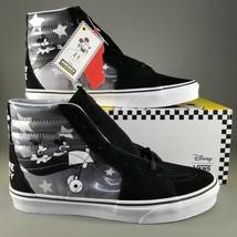 VANS x Disney SK8-HI Plane Crazy Shoes Size 11 Mens Mickey Mouse 90th An... - $121.54