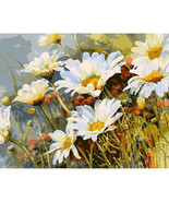 Um flower diy painting by numbers modern wall art picture kits acrylic paint on canvas thumbtall