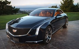 2013 Cadillac Elmiraj Concept 2 - 24X36 inch poster, sports car, muscle car - $18.99