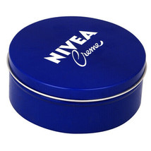 250 Ml NIVEA CREAM Original German Skin Hand CREME moisturizer Metal Tin... - $8.86