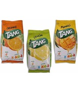 Tang  Instant Drink Mix Powder  10 x 500 GM  Orange / Lemon / Mango ~4 L... - $119.46