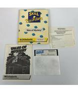 Tales of Mystery Apple II IIe IIC 5.25 Vintage Game COMPLETE CIB ULTRA RARE - $111.11