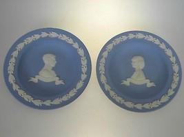 Wedgwood Jasperware Cream on Lavender Royal Wedding Charles & Diana Plat... - $24.27