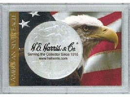 American Silver Eagle Frosty Case, 2x3 Snap Lock Coin Storage, 3pk - $6.99