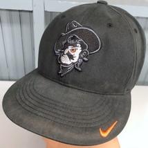 Oklahoma State Cowboys Nike Team Stretch One Size Baseball Cap Hat - $15.59