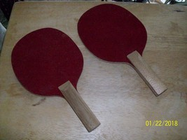 12a#   TABLE TENNIS 2 PADDLES Made in Japan - $9.89