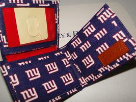 Dooney & Bourke NFL New York Giants Billfold Wallet Navy image 3