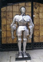 Medieval Larp Maximilian Full Suit of Armour Wearable Halloween Costume - $1,099.00