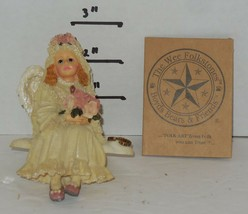 Vintage Boyds Bears Wee Folkstone Style #3527 Felicity Angelbliss Figuri... - $24.75
