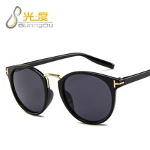 tom ford TF sunglasses women men 2019 purple leopard trendy oval Beach glasses o - $14.58
