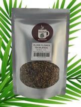 Elder Flower Sambucus nigra Herbal Tea Leaf All Natural 2-4 oz Resealable Pouch  - $9.79+