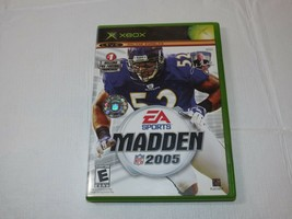 Enloquecer NFL 2005 Microsoft XBOX 2004 E-Everyone SPORTS Fútbol Segunda... - $29.68