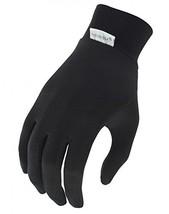 Terramar Kids Thermasilk Ultra-Thin Performance Liner Gloves, Black, Large 7