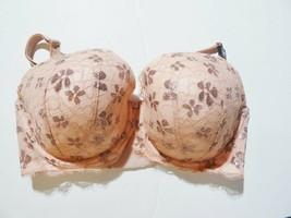 Nwt Victoria's Secret Dream Angels Lined Lace Demi Bra Sz 34DDD Blush Pi... - $39.55