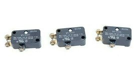 LOT OF 3 NEW HONEYWELL MICRO SWITCH V3-5000 SNAP SWITCHES 10A 125/250VAC 1/3HP