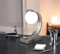 Art Deco Table Touch Lamp 20's 30's Curved Abst... - $90.83