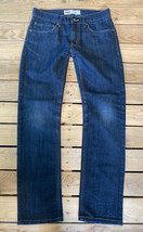 Levi's Girls 511 Slim Fit Jeans Size 16 (28x28) In a Dark Wash EUC A7 - $14.84