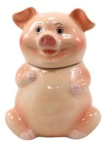 "Animal Farm Bacon Porky Pig Ceramic Cookie Jar Container Figurine 8""H Ba... - $29.99"