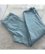 Jessica Simpson Womens Sz 30 Forever Rolled Skinny Jeans Light Blue - $15.59