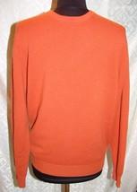 Jos A Ufer Travelers Sammlung M Kaschmir Pullover Orange Herren - $40.17