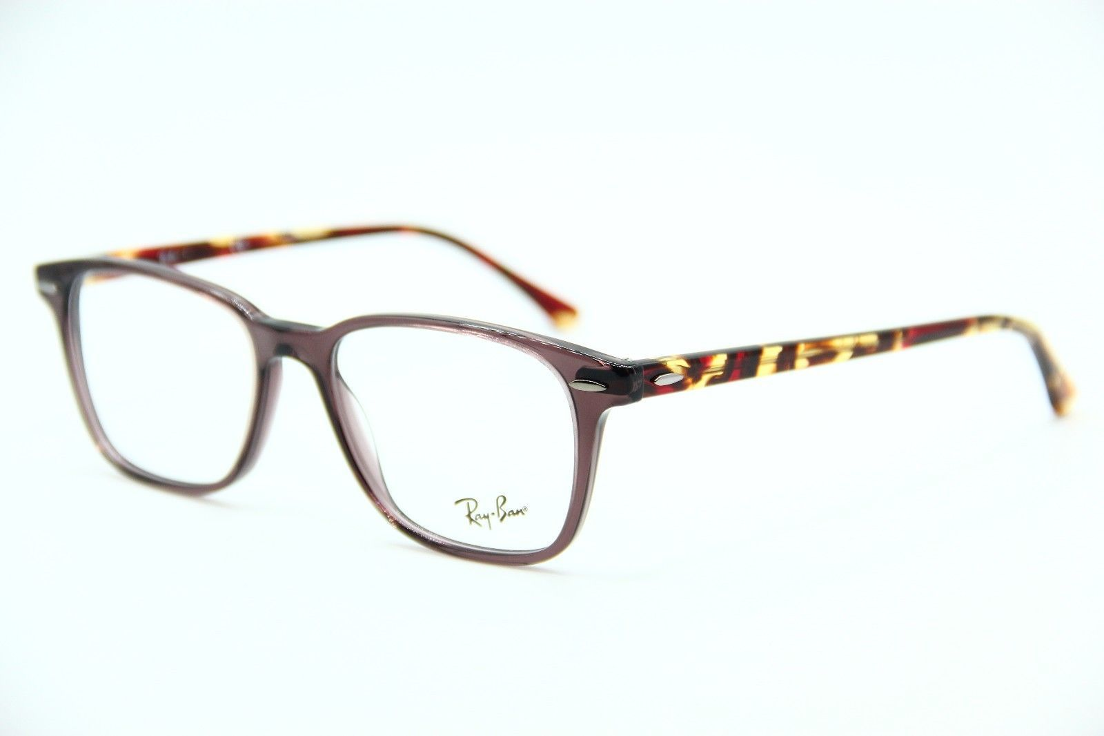 fd814971b2d1c 57. 57. Previous. NEW RAY-BAN RB 7119 8023 HAVANA EYEGLASSES AUTHENTIC RX  RB7119 53-17 · NEW RAY-BAN ...
