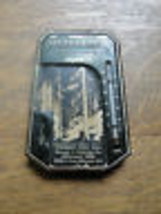 Old thermometer case advertising, Pioneer Fuel Oils, Reliance Die & Stam... - $38.00