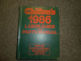 1982 1986 Chiltons All Models All Makes Labor Guide & Parts Manual Mechanics EDI - $11.08